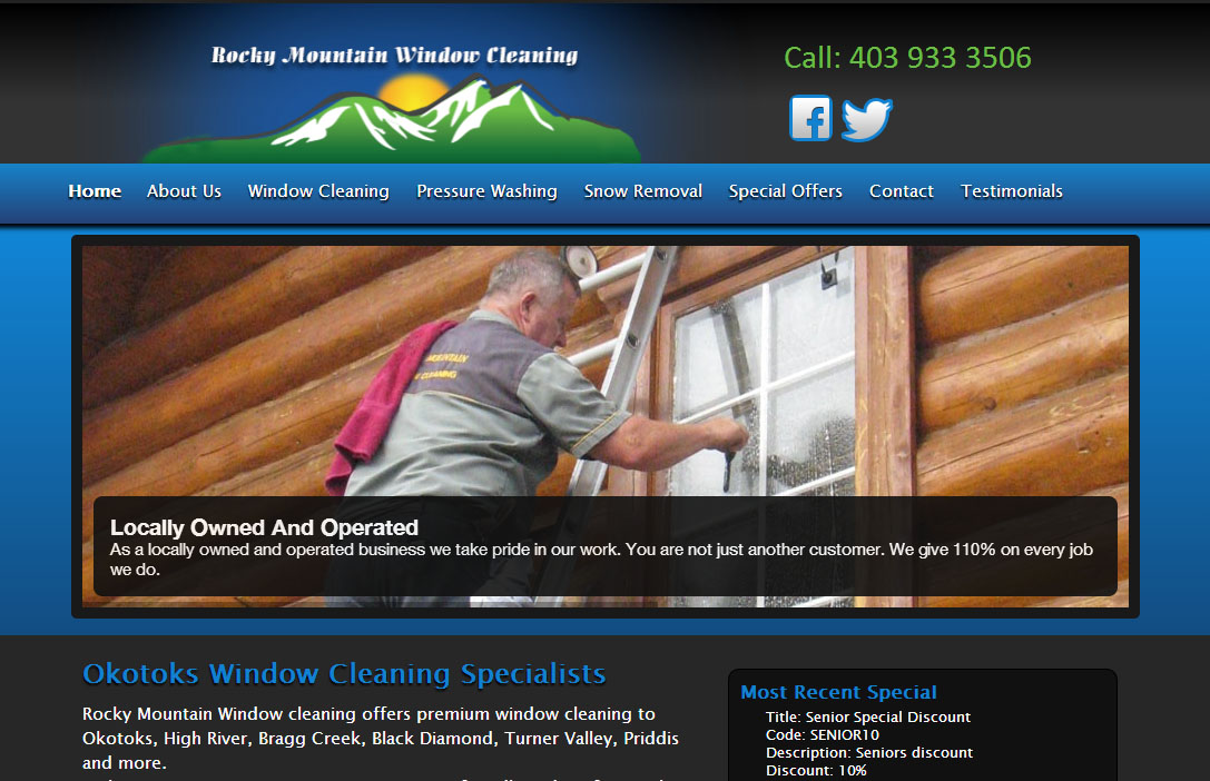rocky mountain window cleaning calgary web design - Window Cleaner Job Description