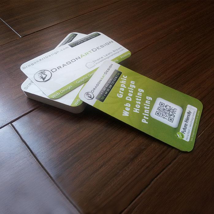 Ultra Thick Premium Business Cards   Calgary Web Design